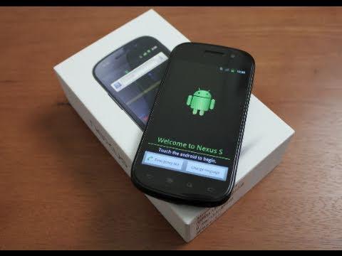 New Google Nexus S Unboxing!