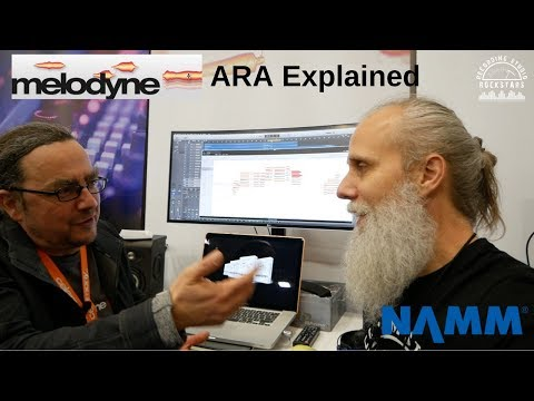 Melodyne 4 ARA Explained! Winter NAMM 2018 with Lij Shaw thumbnail