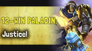 Hearthstone Arena | 12-Win Paladin: Justice! w/ Sunglitters! (Rise of Shadows #8)