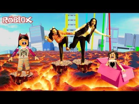 Roblox - O CHÃO É LAVA (The Floor is Lava) | Luluca Games