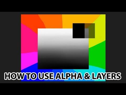 Corel Painter - Alpha, Layers, Masks & Composite Methods