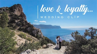 Love and loyalty.. Wedding clip.. Свадьба Севастополь видео..