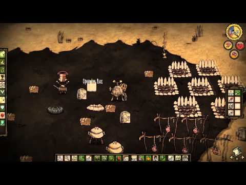 They're Made of Meat! Cardboard Decoy Plays Don't Starve[Reign of Giants]: Episode 19