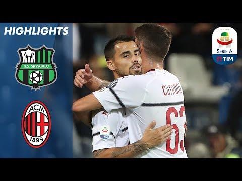 Sassuolo 1-4 AC Milan | Trionfo del Milan sul Sassuolo con doppietta di Suso | Serie A