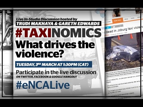 LIVE DISCUSSION: Taxinomics - What drives the violence?