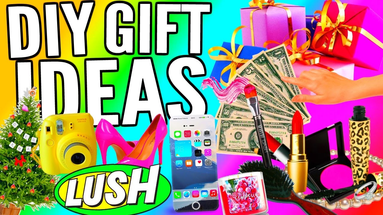 Christmas Gifts 2017 For Her Part - 37: Last Minute DIY Gift Ideas Birthday Gift Ideas, Valentines Day Ideas, Christmas  Gift Ideas 2017! - YouTube