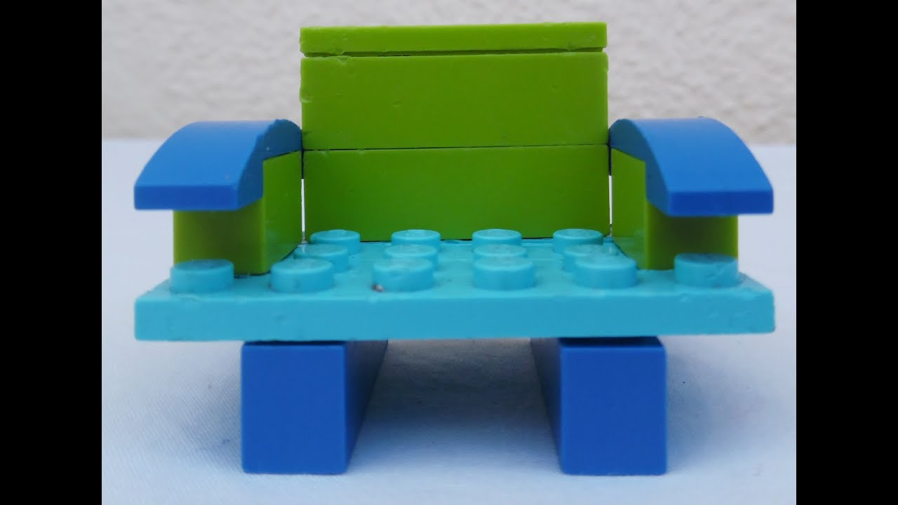 how to make a simple lego sofa serta beds build city shop toys moc youtube
