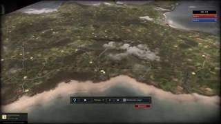 R.U.S.E Multiplayer Gameplay - D-Day! Die Landung der Alliierten [Deutsch/HD]