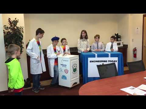 Robo-Rattlers Project Presentation at VT State Competition