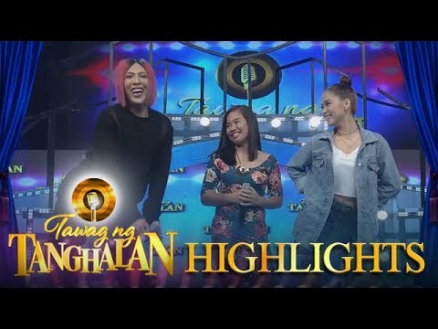Tawag ng Tanghalan: Vice tries to imitate Maja's pose