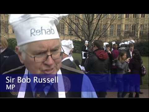 Rehab Parliamentary Pancake Race 2012