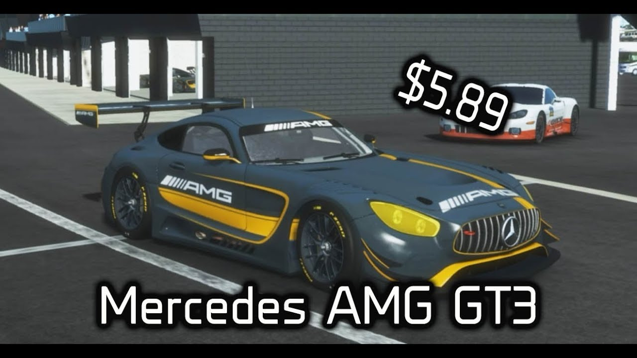 Paid Content for Rfactor 2 | Mercedes AMG GT3