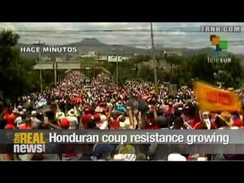 Honduran coup resistance growing