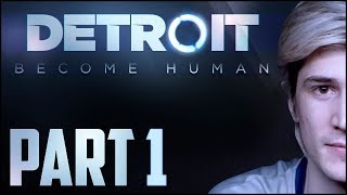 xQc PLAYS DETROIT: BECOME HUMAN w/ CHAT [1/2] | xQcOW