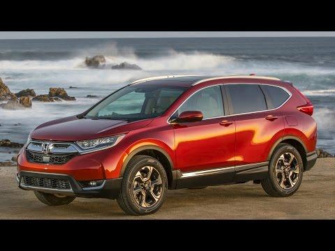 2017 Honda CR-V AWD Molten Lava Pearl - Drive and Design