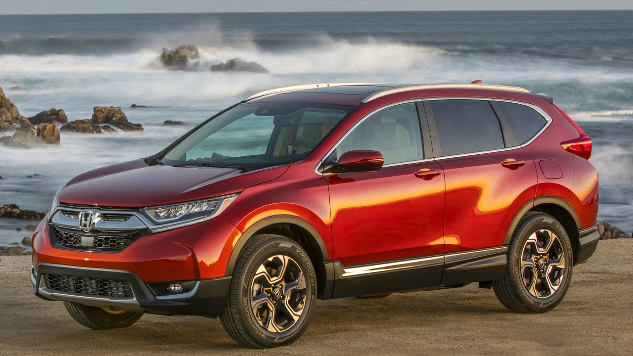 2017 Honda CR-V AWD Molten Lava Pearl - Drive and Design ...