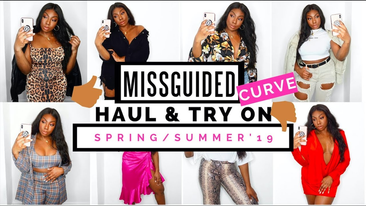 766ac53c345 Curvy Girl Friendly Missguided Haul & Try On Spring Summer 2019 ...