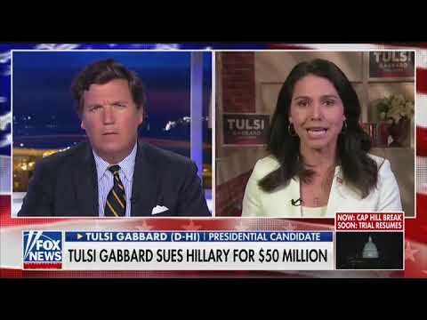 Tulsi Gabbard Stands By Suing Hillary Clinton: I Won't Allow Her Defamation to Go Unchecked
