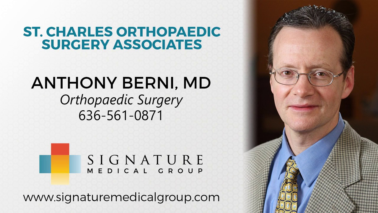 Dr Anthony Berni | Orthopedic Surgeon O Fallon MO | Shoulder