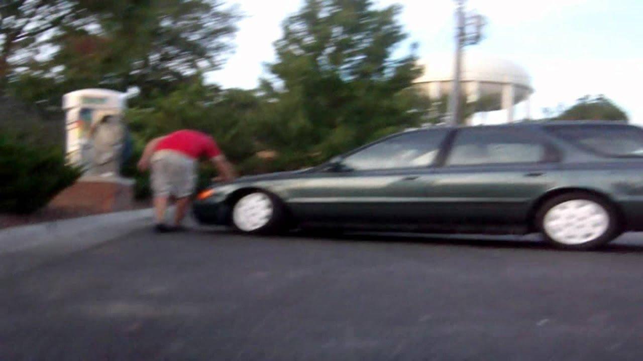 JDM Slammed Accord Wagon - YouTube