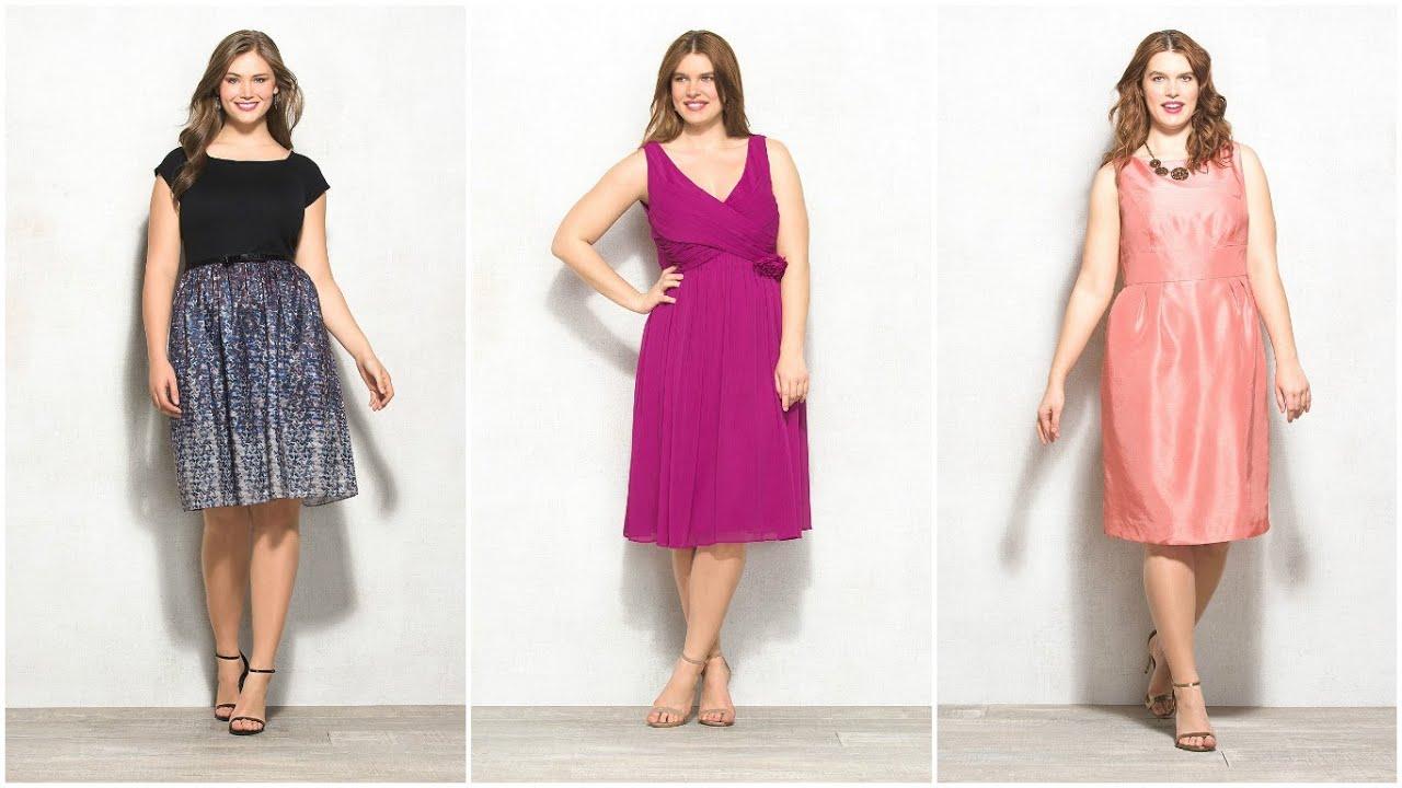MODA PARA GORDITAS - Vestidos de Coctel para Gorditas #Moda ...