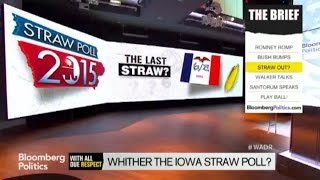 Everyone in Iowa Says the Straw Poll's Gonna Die