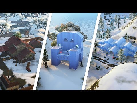 Search Ammo Boxes At The Workshop, Shiver Inn, Or Ice Throne Locations - Fortnite Winterfest