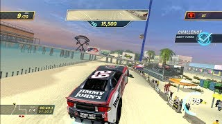 NASCAR Unleashed - Daytona International Speedway: Beach Run *Gameplay* [PS3]