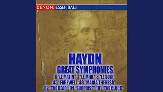 "Haydn Symphony No. 7 in C Major ""Le midi"": II. Recitativo: Adagio - Cadenza"