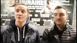 'ANTHONY JOSHUA IS GOING TO FLATTEN PARKER THEN BIG FURY WILL BOX THE LOAF OFF HIM!' -GINLEY BROTHER