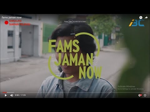 FAMS JAMAN NOW - MAGAZINE - INDONESIA BROADCASTING CHANNEL
