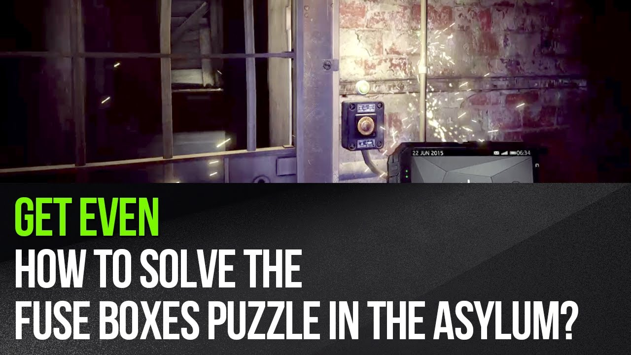 maxresdefault get even how to solve the fuse boxes puzzle in the asylum? youtube Circuit Breaker Box at n-0.co