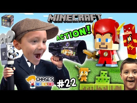 Chase's Corner: Boys Make a Minecraft Movie w/ OBSIDIAN Series 4 STOPMOTION! (#22) | DOH MUCH FUN