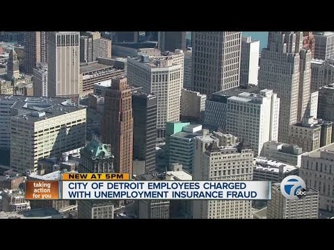 City of Detroit employees charged with unemployment insurance fraud