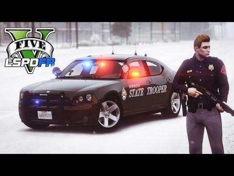 GTA 5 - LSPDFR Ep174 - Nebraska State Patrol Mayhem!!