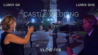 Wedding Photography - Lumix G9 and Lumix GH5 - Saint Clements Castle  Connecticut