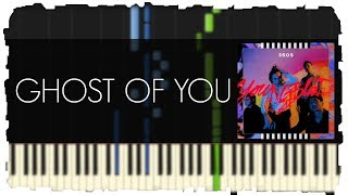 5SOS - Ghost Of You | Piano Tutorial | Synthesia