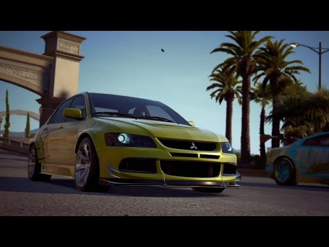 Lancer Evo Solar Sprint // Need For Speed Payback