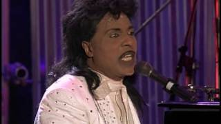 "Little Richard performs ""Tutti Frutti"" at the Concert for the Rock & Roll Hall of Fame"