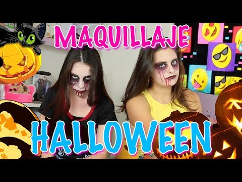 Make up | Tutorial Maquillaje de Halloween | Sofia Moreno ft Sharon Díaz
