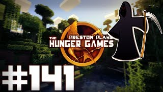 Minecraft Hunger Games: THE CRANE GAME! - w/Preston & Friends! #141