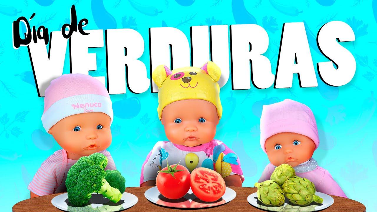 👶 ¡Mis bebés de Juguete Dia de verduras! 🥬 La Guardería Nenuco #5