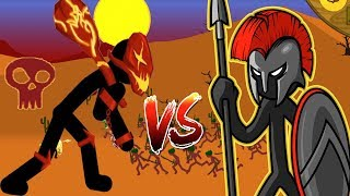 Lava Giant vs Swordwarth COUNTER | Stick War Legacy Gameplay #1