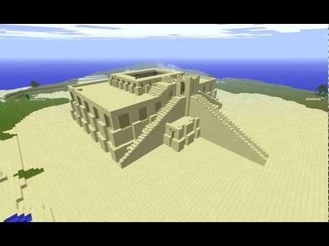 Minecraft Ziggurat of Ur