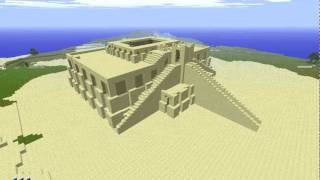 Minecraft Ziggurat of Ur