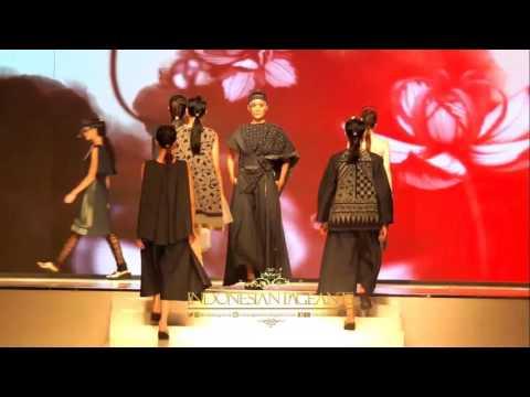 Kain Negeri Indonesia Barat Jakarta Fashion Food & Festival 2016