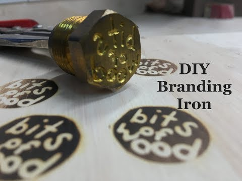Making a Branding Iron from a Brass Fitting