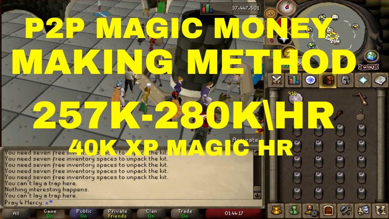 OSRS P2P MAGIC MONEY MAKING METHOD