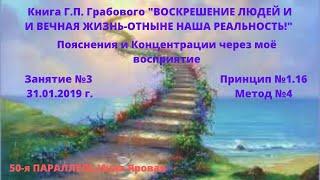 ЗАНЯТИЕ №3 ПРИНЦИП 1.16 МЕТОД №4  Инна Яровая 50-я ПАРАЛЛЕЛЬ