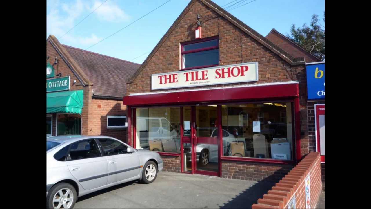 3898 Tile Shop Business For Sale in Shrewsbury Shropshire - YouTube